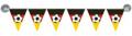 Miniwimpelkette als Fensterdeko mit Saugnäpfen Deutschland BRD